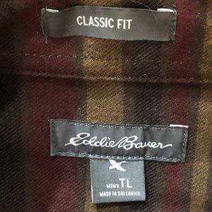 NWOT Eddie Bauer Soft Plaid Shirt Men's